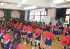 幼稚園での声楽授業