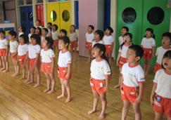 保育園での声楽授業