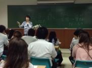 タイのアサンプション大学での講義の様子